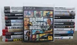 Título do anúncio: Lote 23 Jogos PS3 - Venda individual ou Lote todo.