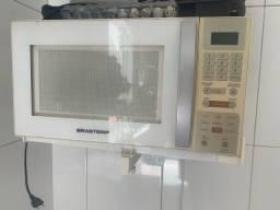 Microondas brastemp 30 litros branco