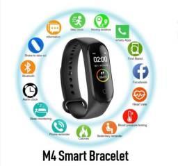 Relógio Inteligente Smartband Bracelete M4 Novo