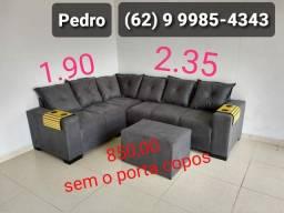 Título do anúncio: SOFÁ 6 lugares promocional por R$ 750,00