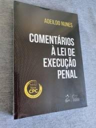 Título do anúncio: Comentários à Lei de Execução Penal - Adeildo Nunes