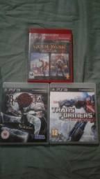 Vendo 3 jogos de Ps3 Originais