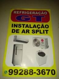 Refrigeração e instalação de ar Split