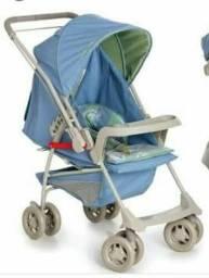 A venda carrinho de bebê usado mais parece q nunca usou