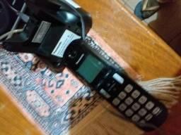 Telefone fixo da Panasonic com viva voz.novo