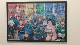 Quadro super heróis