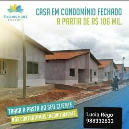 16 - Casas em condomínio fechado com desconto de até 31mil