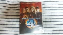 DVD filme Quarteto Fantástico