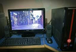 Core i3 3220 3.3 GHz, monitor de 20 polegadas, 6gb de memória, + WIFI