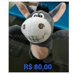 Brinquedo educativo burro inteligente canta dança e repete frases novo