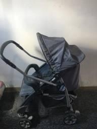 Carrinho Bebê conforto e berço