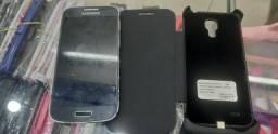 S4 mini com capa carregador