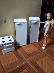 Móveis para boneca Barbie