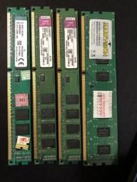 Memórias 4GB DDR3 (3x4gb)