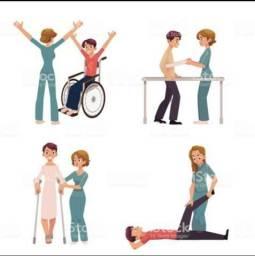 Fisioterapia em domicílio. Atendimento no conforto do seu lar