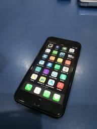 Iphone 6s plus 128 gigas + capa carregadora baseus