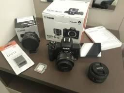 Canon M50 + Lentes (Novo)