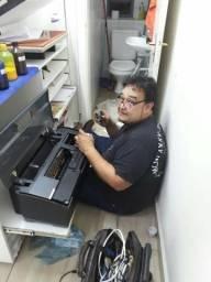 Manutenção especializada em impressoras epson - Hp - canon Brother