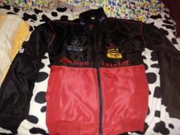 Jaqueta de motoqueiro da Mercedez