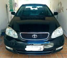 Toyota Corolla 2004 Automático 1.8 XEI Ipva 2019 pago Impecável - 2004