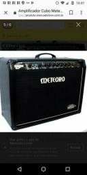 Amplificador cubo meteoro gs160 pré valvulado gs 160 guitarra