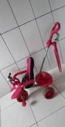 Triciclo Bandeirante Rosa