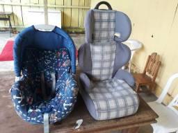 Bebê conforto e cadeiras para carro