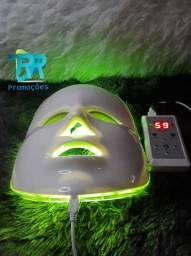 Máscara de led para terapia facial 7 cores