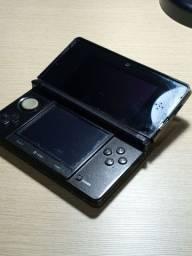 Nintendo 3ds com jogos e carregador
