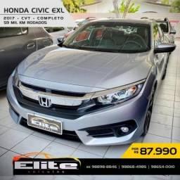 HONDA CIVIC 2016/2017 2.0 16V FLEXONE EXL 4P CVT