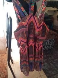 Vestido pitanga M