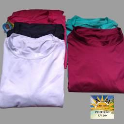 Camisa UV Proteção 50+ Manga Longa Unissex
