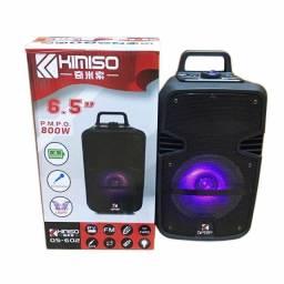 Caixa de som Kimiso Qs#602 amplificadora 800W Otimo Preço e Super Potencia!