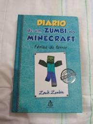 Livro - Diário de um zumbi do Minecraft: Férias do terror