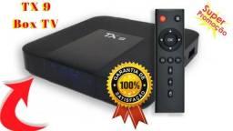Transforme Sua TV Normal Em Smart TV C/ Tx9 Com Esse Conversor Com Entrega Grátis (Jpa)