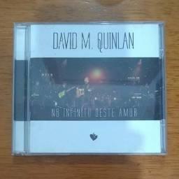 CD - No Infinito Deste Amor - David Quinlam