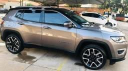 Jeep compas,top,teto solar,limited, 2019 - 2019