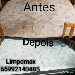 Lavagem a seco em colchões e sofás! Limpomax