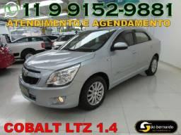 Chevrolet Cobalt Ltz 1.4 Flex - Ano 2012 - Bem Conservado - Financiamento Fácil
