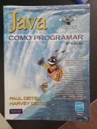 Deitel - JAVA - Como Programar comprar usado  Santo Antônio de Jesus