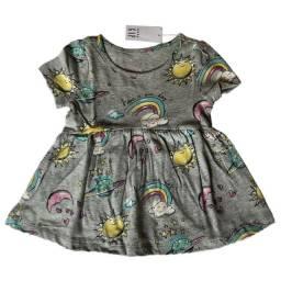 Vestido Estampado Baby GAP 6-12 Meses