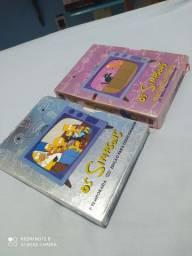 Os Simpsons, edição de colecionador 1 e 3 temporada.