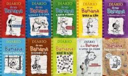 Coleção livros diário de um banana do 1 au 8