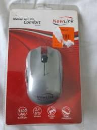"""Mouse sem fio Comfort """"novo"""""""