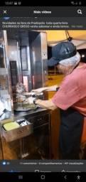 Máquina de churrasco grego venda
