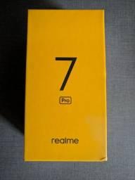 Celular Realme 7 Pro 8/128gb Cor prata - Novo na caixa