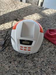 Rádio Boombox Lenoxx Bd109 Fm, Aux, Usb Bivolt