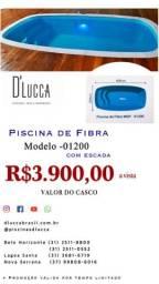 Título do anúncio: Js - Promoção imperdível Piscinas fibra 4,00 x 2,00 x 1,20 Direto de fabrica