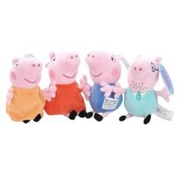 Peppa Pig - Família 19 cm - pronta entrega