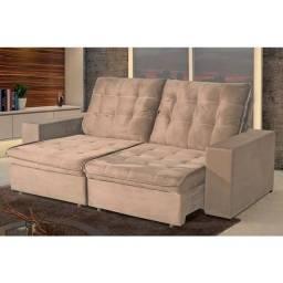 Sofa Retratil 3 L  2,00 m  BP Bella